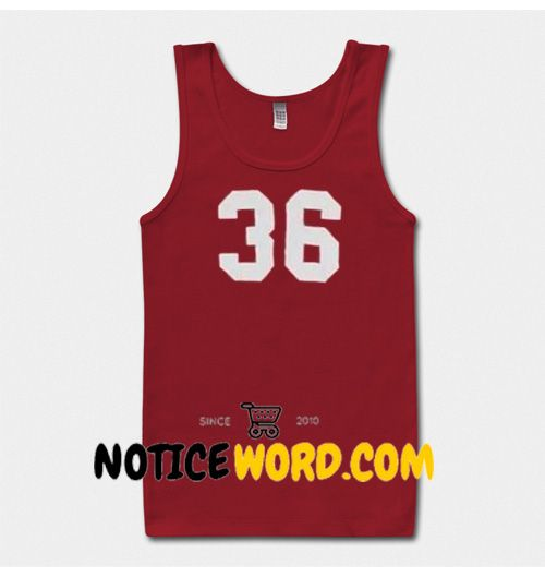 36 number Tanktop gift tanktop unisex custom clothing