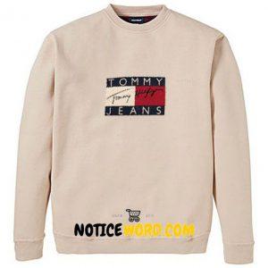 90s Tommy jeans big logo Sweatshirt