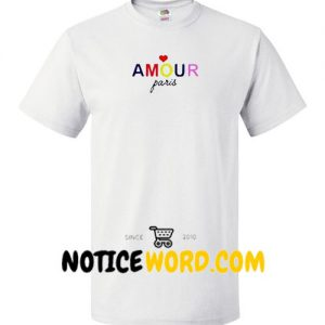 Amour Paris T Shirt