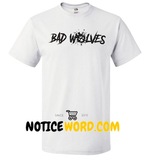 Bad Wolves Logo T Shirt, Disobey by BAD WOLVES Shirt