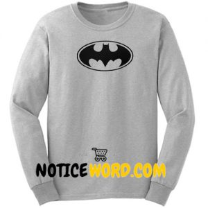 Batman Logo Sweatshirt Unisex Adult Size S to 3XL