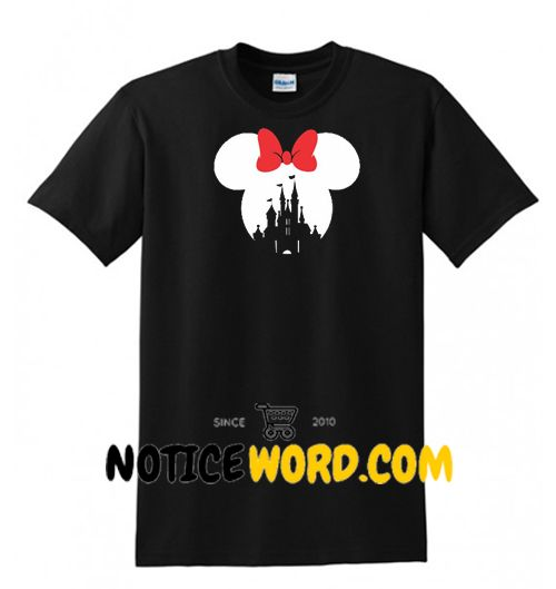 a502ce852 Mickey Mouse or Minnie Mouse Disney Castle T Shirt