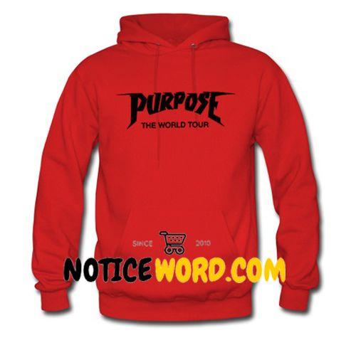 Purpose The World Tour Hoodie