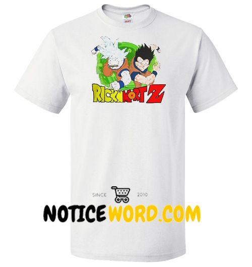 da7ff415 Rick & Morty Dragon Ball Z Mash Up, Rick N Mort Z T Shirt