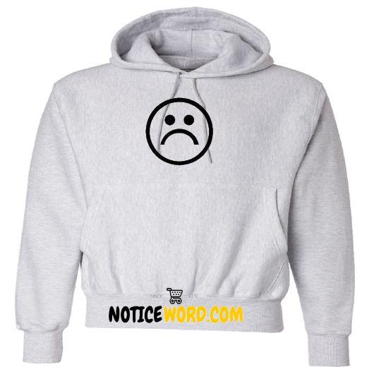 Sad Face Symbol Hoodie