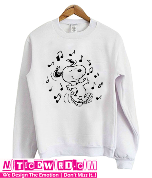 Dancing Snoopy Sweatshirt
