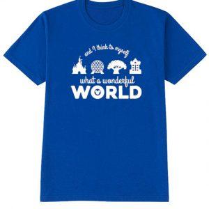 What a Wonderful World T Shirt