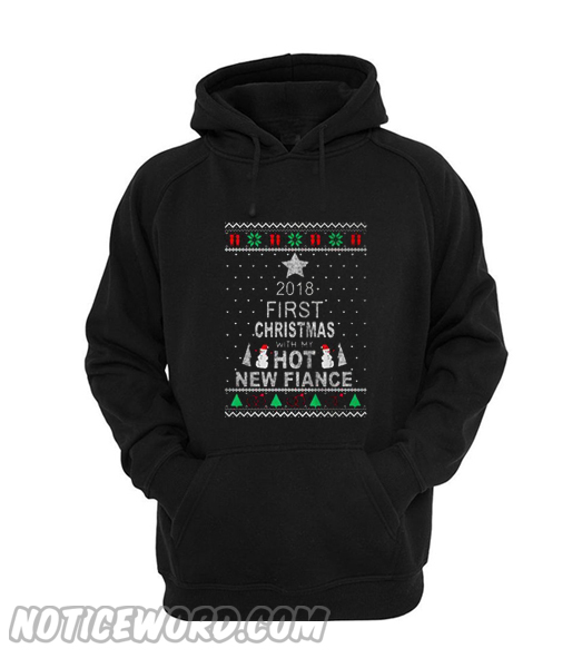 2018 first christmas with my hot new wife Hoodie