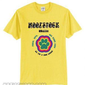 Woofstock Malibu Yellow T-Shirt