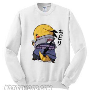 Naruto Pikachu Sweatshirt