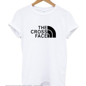 The Cross Face smooth T-shirt