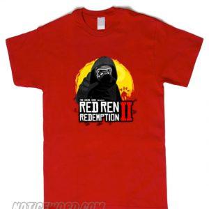 The Dark Red Ren smooth T-Shirt