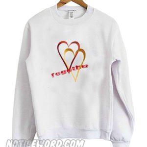 Together Valentines Sweatshirt