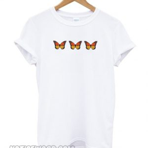 Triple Butterfly smooth T-Shirt