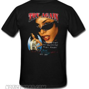 Try Again Aaliyah Haughton smooth T-Shirt