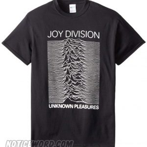 Unknown Pleasures Joy Division smooth T shirt