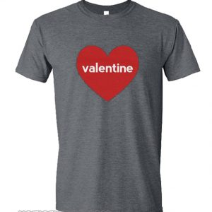 Valentines Day Heart smooth T-Shirt
