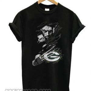 Wolverine and Green Bay Packers T-shirt
