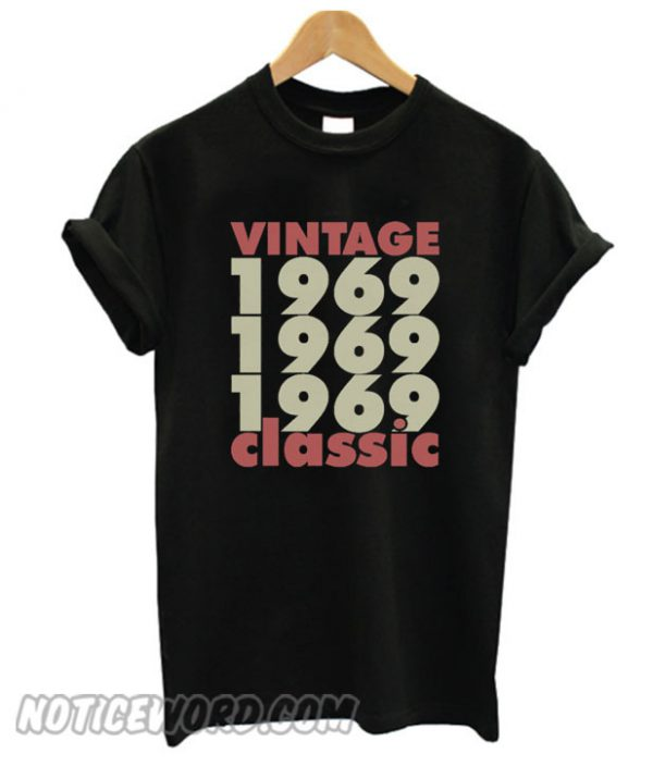 1969 – 2019 50 Years Perfect smooth T-Shirt