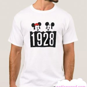 1928 Mickey and Minnie Mouse smooth T-Shirt