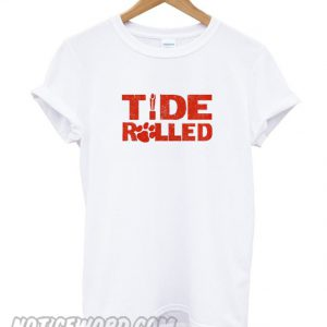 Tide Rolled Clemson 2019 National Championship smooth T-Shirt