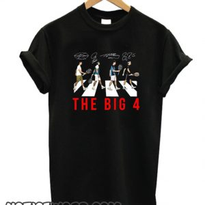 The Big 4 Four Famous Top Tennis Players smooth T-Shirt