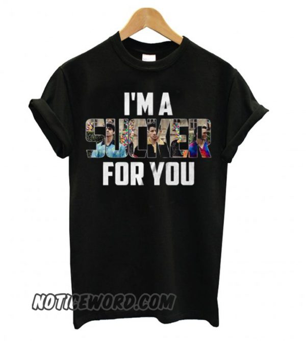 Jonas Brothers Sucker Black smooth T shirt