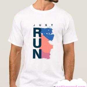 Just Run smooth T Shirt