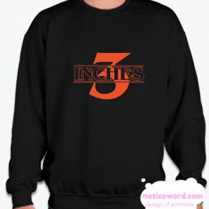 3 Inches Stranger Things smooth Sweatshirt