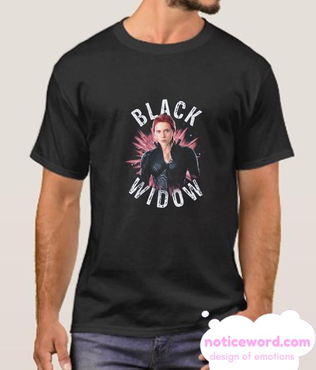 Black Widow Burst Smooth T Shirt