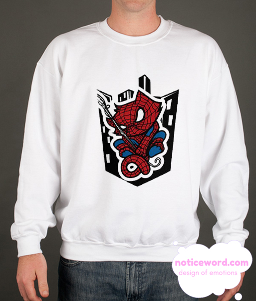 Spider Man Cute Cat smooth Sweatshirt
