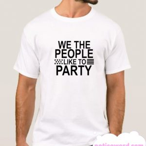 We The People smooth T Shirt