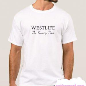 Westlife 2019 the Twenty tour smooth T-Shirt