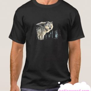 Wildlife Nature Wild Wolf smooth Tshirt