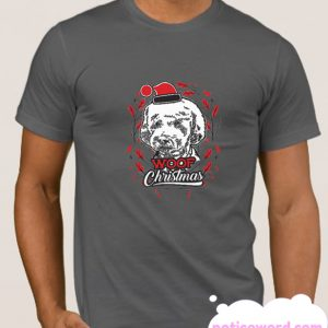 Woof Christmas smooth T SHIRT