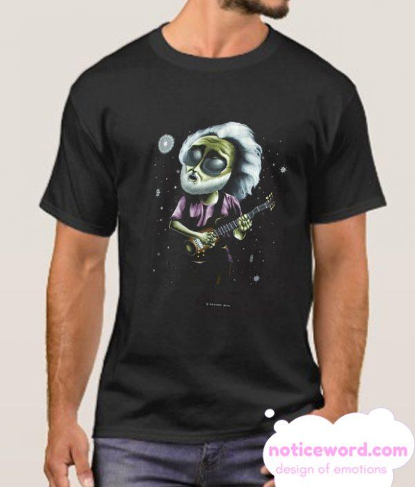1995 Extra-Terrestrial Jerry Garcia smooth T Shirt