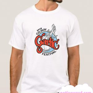 2019 Gilroy Garlic Festival smooth T Shirt