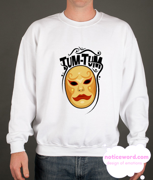 TUM-TUM MASK smooth Sweatshirt