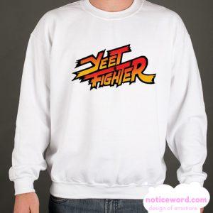 YEET FIGHTER PARODY smooth Sweatshirt