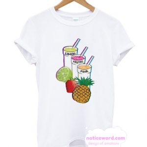 Summer Cocktail Fruit Smoothie T Shirt