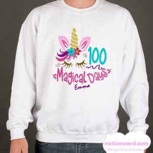 100 Day Of School Shirt Ideas smooth Sweatshirt