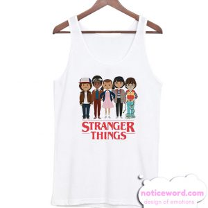 Stranger Things Angry Face Tank Top