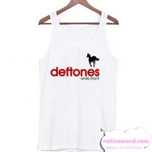 The Nu Metal White Pony Deftones smooth Tank Top