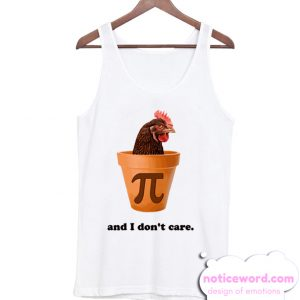 Chicken Pot Pi Day smooth Tank Top
