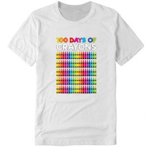 100 Days Of Crayons DH T Shirt