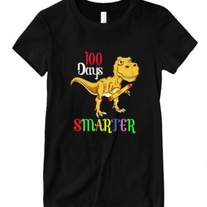 100 Days Smarter Happy 100th Day Of School Student Teacher DH T Shirt