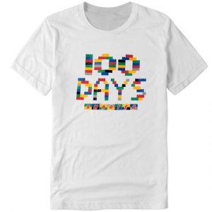 100 Days of School LEGO DH T Shirt