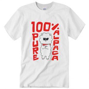 100% Pure Alpaca DH T-Shirt