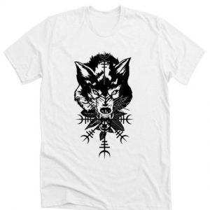 WOLF HEAD GRAPHIC DH T-Shirt