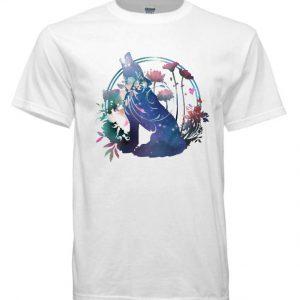 WOLF flower DH T-Shirt